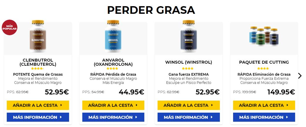Esteroides bogota venta