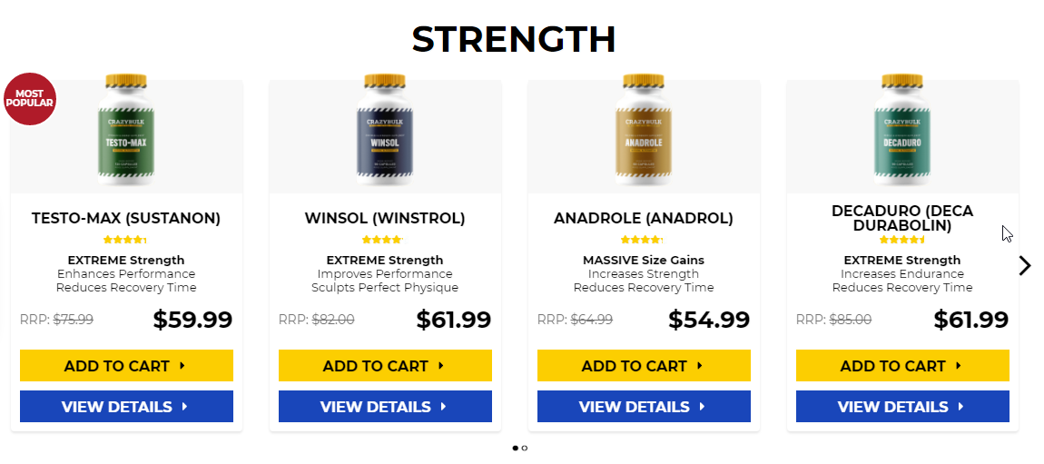 Steroids to gain muscle